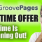 Groovepages Lifetime Offer Pricing - Demo (Hurry Ends Soon)