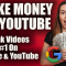 How To Make Money On Youtube - Ranking Videos High On Youtube