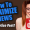 How To Promote Youtube Videos To Maximize Views - 3 Top Tips (FASTEST WAY TO MONETIZE)