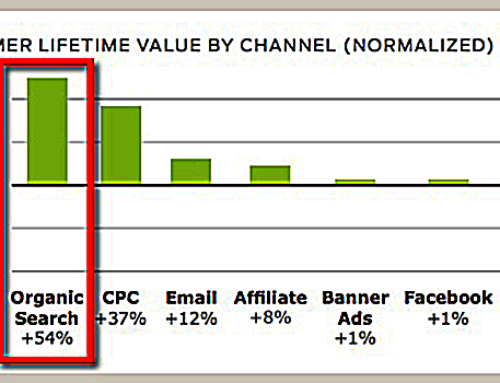 "Study Shows Organic Search Maximizes ""Customer Lifetime Value"""