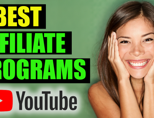 Affiliate Marketing:  4 Best Affiliate Programs for Youtubers To Make Money on Youtube