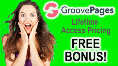GrooveFunnels Pricing - Lifetime Deal Options and FREE Bonus
