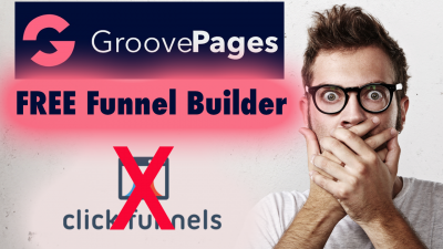 GroovePages Free Funnel builder