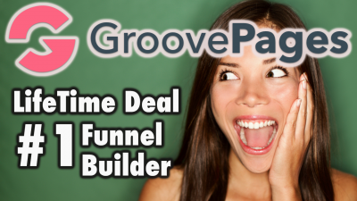 GroovePages Lifetime Deal - #1 Funnel Builder - Free 24hr Ranking Bonus