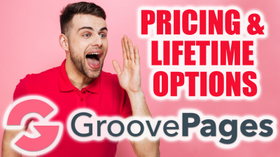 GroovePages Pricing - Lifetime Access Pricing Options - Get FREE Bonus Deal