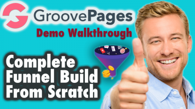 Groovepages demo walkthrough - Complete Funnel Build From Scratch (Part 1 of 3)