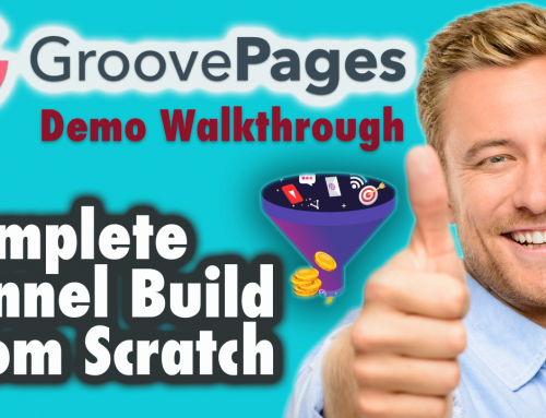 Groovepages demo walkthrough – Complete Funnel Build From Scratch (Part 1 )
