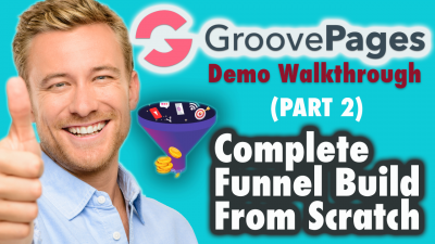 Groovepages demo walkthrough - Complete Funnel Build From Scratch