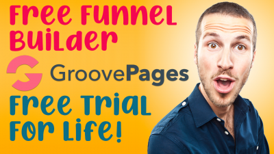 Groovepages free trial - free funnel builder and shopping cart software - Lifetime deal!