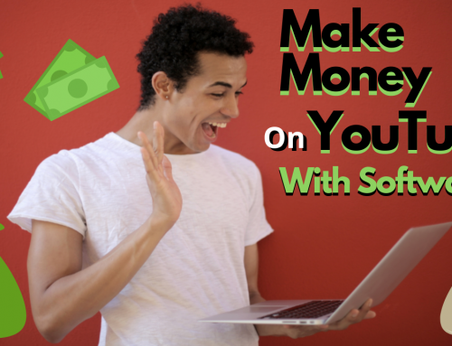 How to make money on youtube with software (Vidnami)