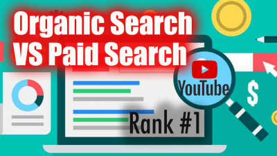 organic search vs paid search on google